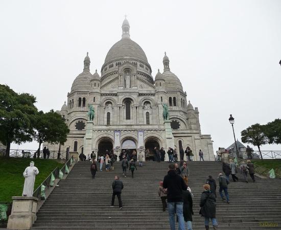 Montmartre, Paris, France - 8/20