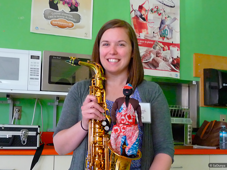 Doggy & Caitlin Barton Saxophone Teacher