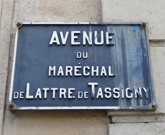 Plaques de rue à Nancy - 10/16