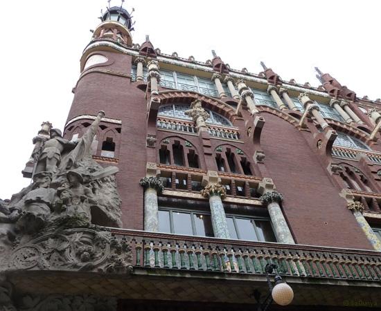 Palais de la musique catalane, Barcelone - 3/14
