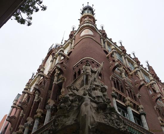Palais de la musique catalane, Barcelone - 4/14