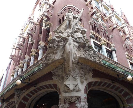 Palais de la musique catalane, Barcelone - 5/14