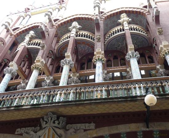 Palais de la musique catalane, Barcelone - 7/14