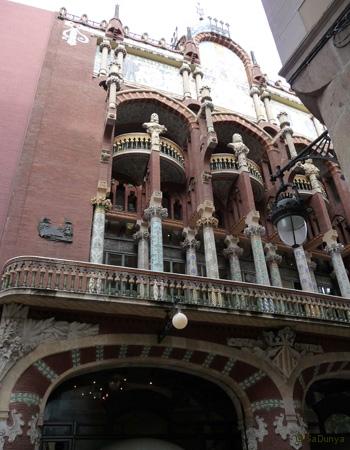 Palais de la musique catalane, Barcelone - 9/14