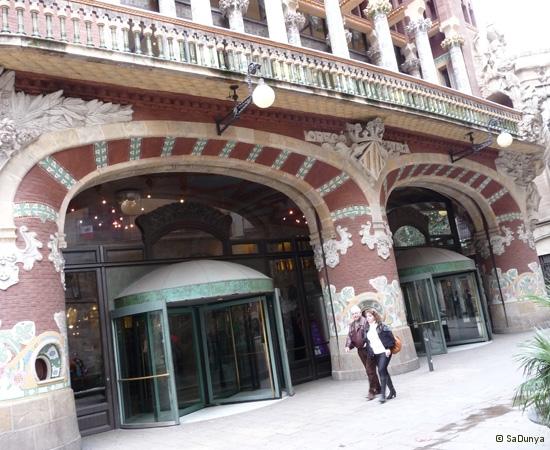 Palais de la musique catalane, Barcelone - 10/14