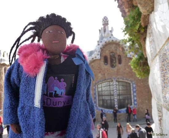 SaDunya au Park Güell à Barcelone en Espagne - 1/37