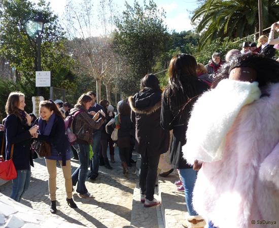 SaDunya au Park Güell à Barcelone en Espagne - 13/37