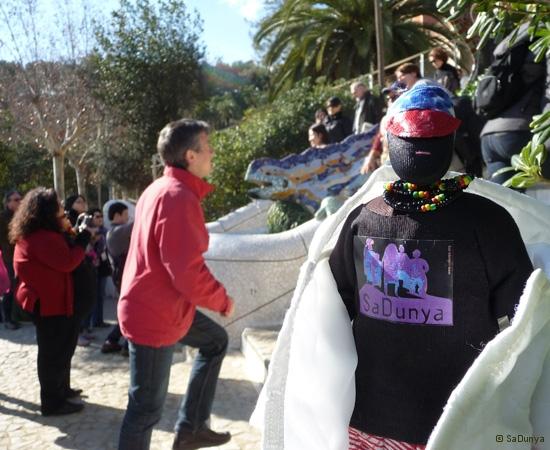 SaDunya au Park Güell à Barcelone en Espagne - 19/37