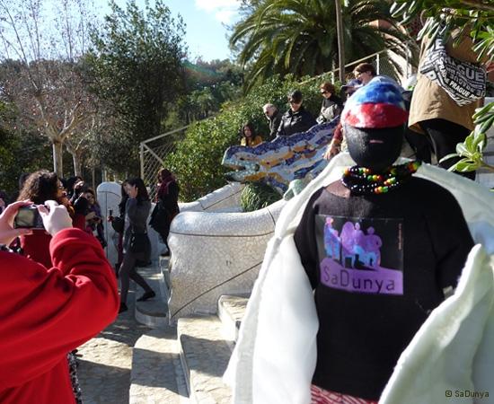 SaDunya au Park Güell à Barcelone en Espagne - 20/37