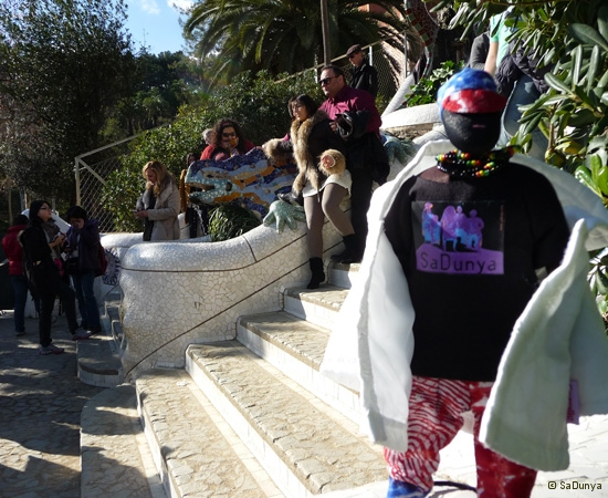 SaDunya au Park Güell à Barcelone en Espagne - 22/37