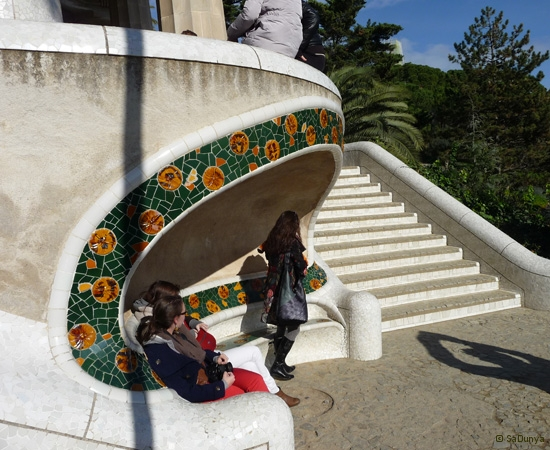 SaDunya au Park Güell à Barcelone en Espagne - 24/37