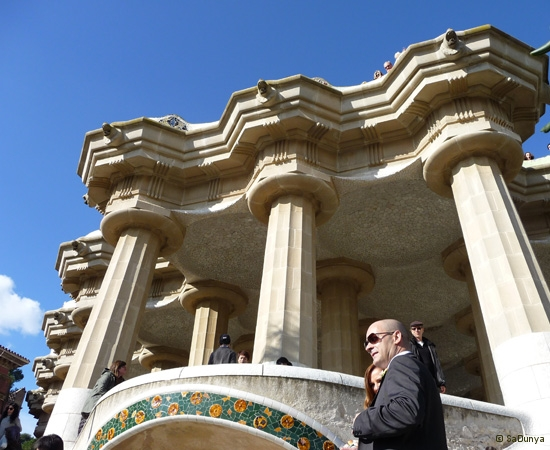 SaDunya au Park Güell à Barcelone en Espagne - 25/37