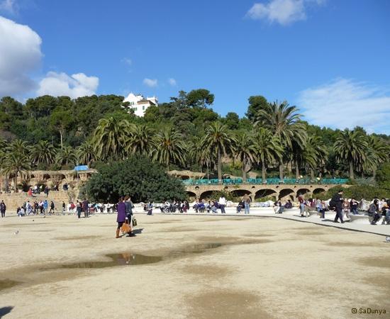 SaDunya au Park Güell à Barcelone en Espagne - 27/37