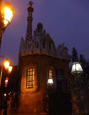 SaDunya au Park Güell à Barcelone en Espagne - 15/22
