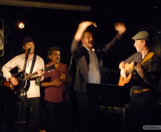 22 /24 - Paul Lassey joue avec Deep River au Clou