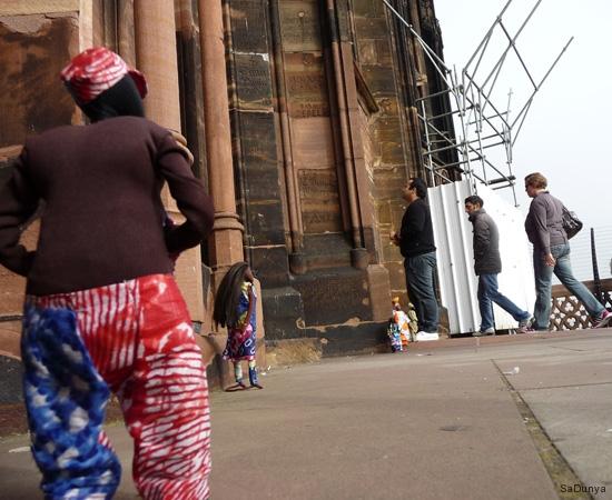 Sur la plateforme de la cathédrale de Strasbourg - 1/20