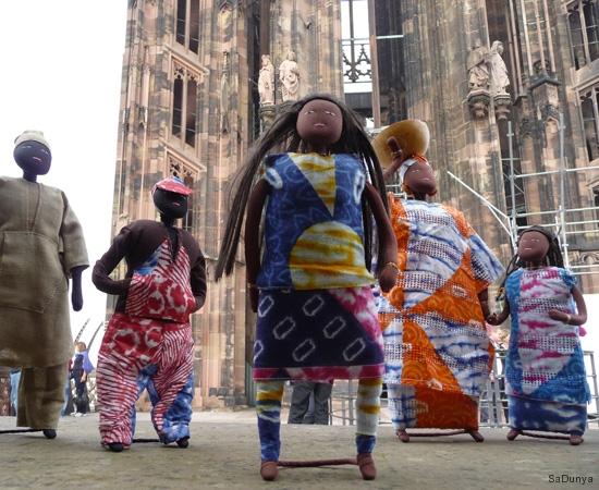 Sur la plateforme de la cathédrale de Strasbourg - 2/20