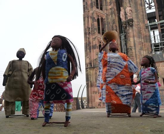 Sur la plateforme de la cathédrale de Strasbourg - 9/20
