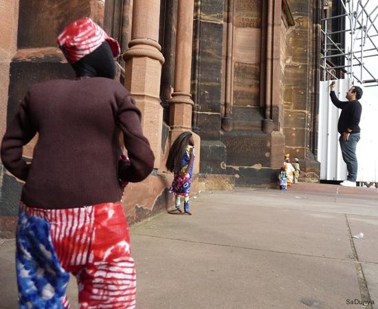 Sur la plateforme de la cathédrale de Strasbourg - 11/20