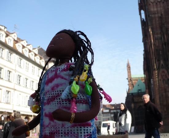 Sur la plateforme de la cathédrale de Strasbourg - 13/20
