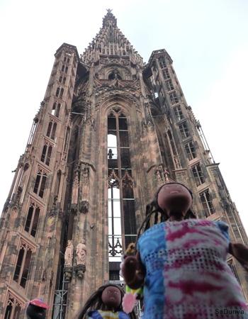 Sur la plateforme de la cathédrale de Strasbourg - 20/20