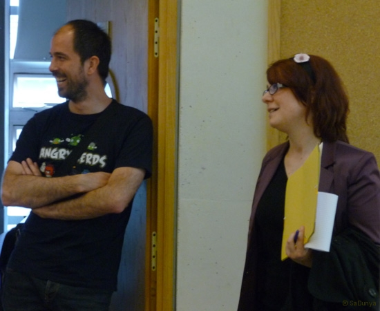 7 /9 - Stephanie Bourgeois au Startup Weekend de Nancy