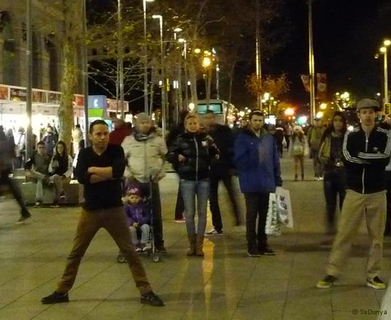 Street danse à Barcelone - 9/15