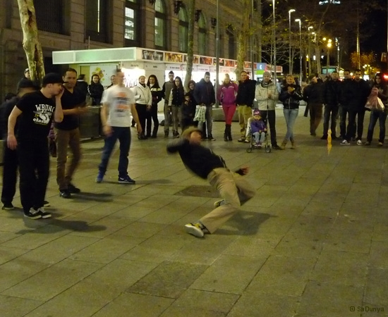 Street danse à Barcelone - 10/15