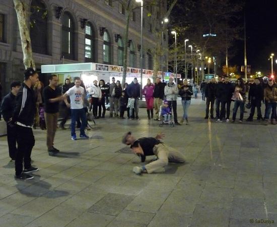 Street danse à Barcelone - 11/15