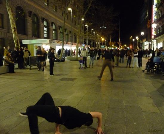 Street danse à Barcelone - 12/15
