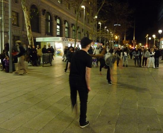Street danse à Barcelone - 13/15
