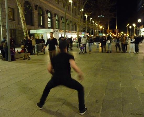 Street danse à Barcelone - 14/15