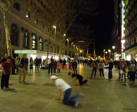 Street danse à Barcelone - 15/15