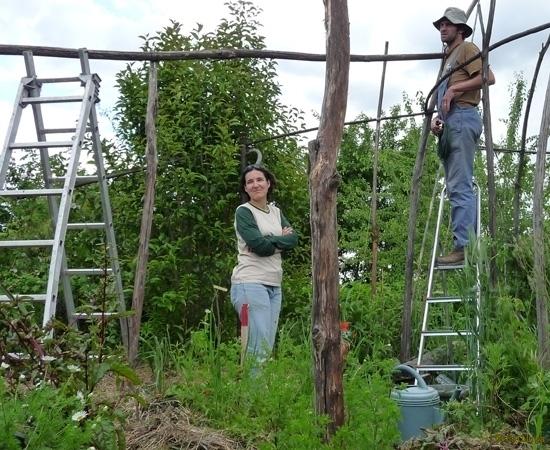 7 /23 - Le jardin potager de l\'association Terre & Humanisme
