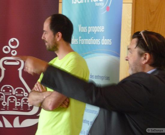 10 /17 - Yann Gensollen au Startup Weekend de Nancy