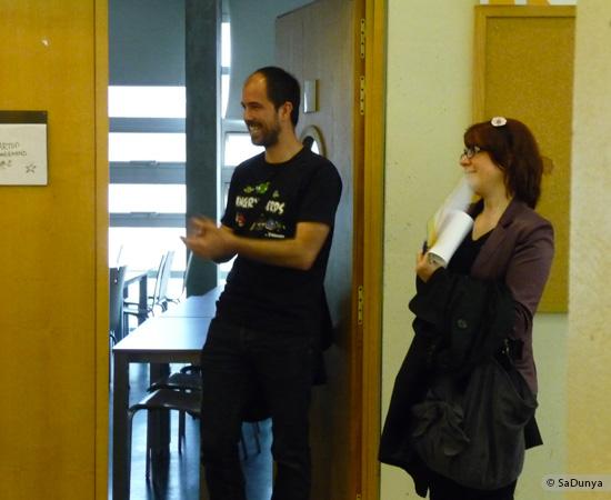 11 /17 - Yann Gensollen au Startup Weekend de Nancy