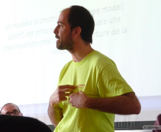 2 /17 - Yann Gensollen au Startup Weekend de Nancy