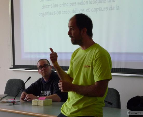 3 /17 - Yann Gensollen au Startup Weekend de Nancy
