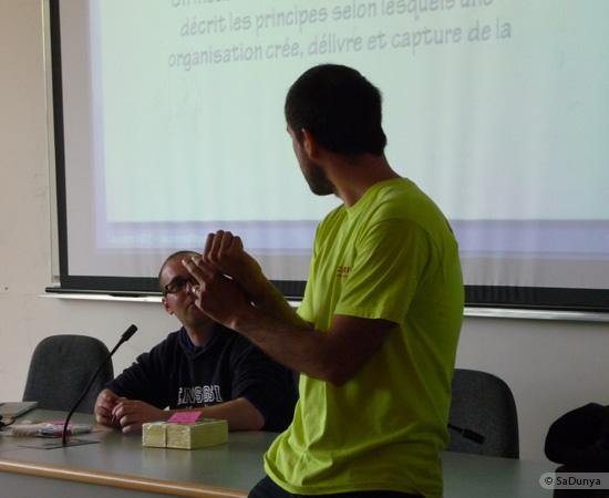 4 /17 - Yann Gensollen au Startup Weekend de Nancy
