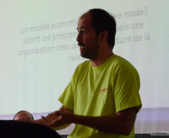 5 /17 - Yann Gensollen au Startup Weekend de Nancy