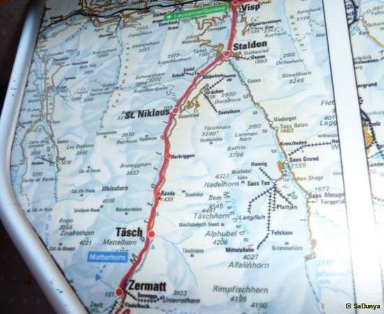 De Martigny à Zermatt à la rencontre du Cervin - 12/33