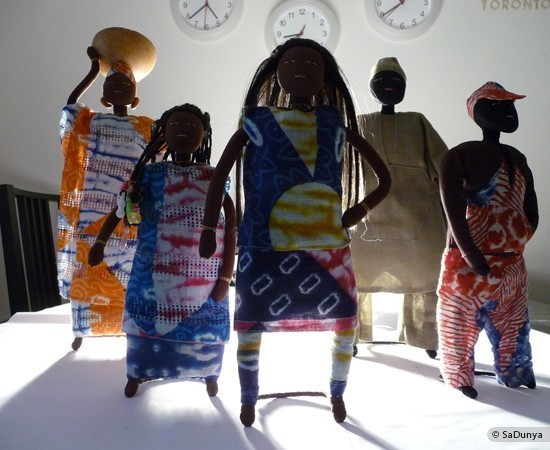 La famille Ndiaye de SaDunya à Somone, sur la petite côte sénégalaise