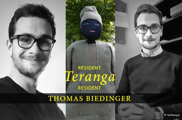Thomas Biedinger Résident Teranga de SaDunya