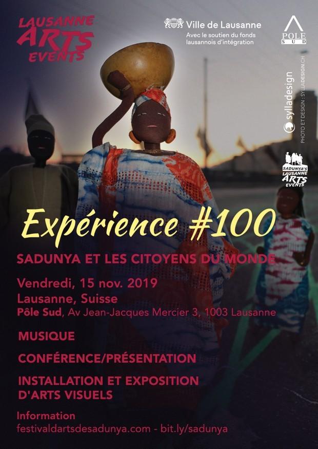 SaDunya et les Citoyens du Monde - Expérience #100