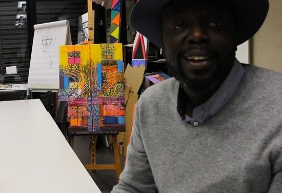 Dr Momar Seck, ou quand l'art est solidaire