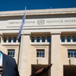 Au Palais des Nations avec Gorgui Wade Ndoye