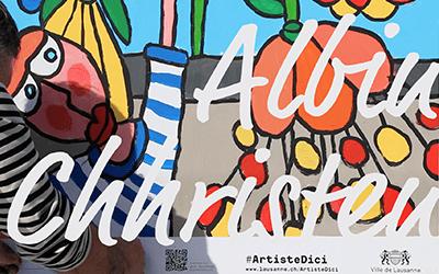 «I LOVE #ArtisteDici» avec Albin Christen